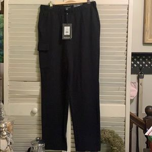 Womans Ankle Fleece Lounge Pant NWT sz Medium